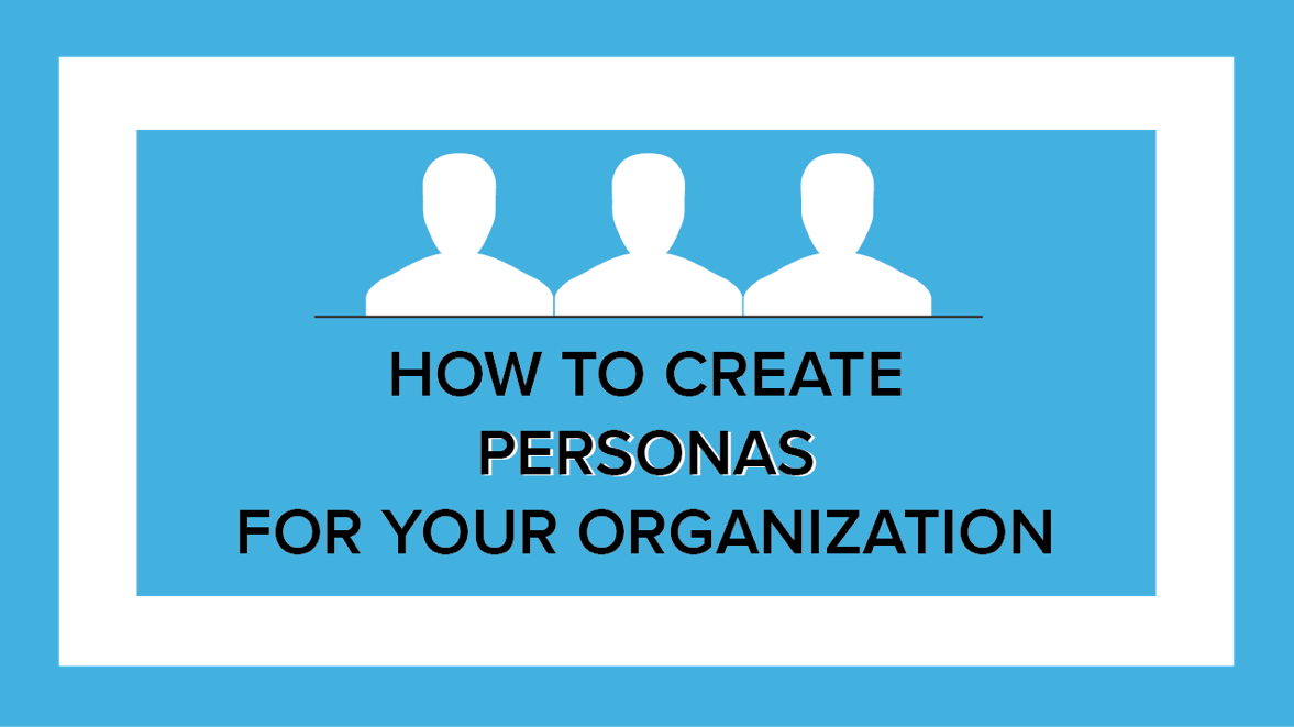 how to create persona for your organization